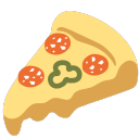 icon Pizza sans fromage 🦧