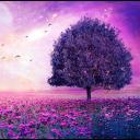 Icon Purple Tree