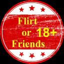 Icône Flirt or Friends 18+ International Community