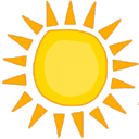 Icône Sun ☀