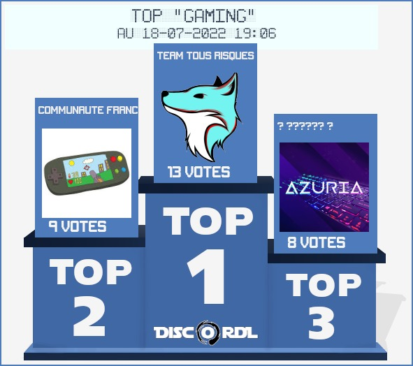TOP HEBDO gaming